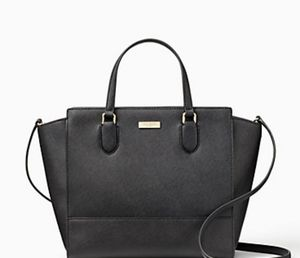 KATE SPADE Laurel Way Hadlee Leather Satchel